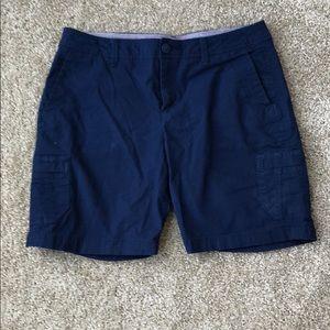 Navy Eddie Bauer shorts